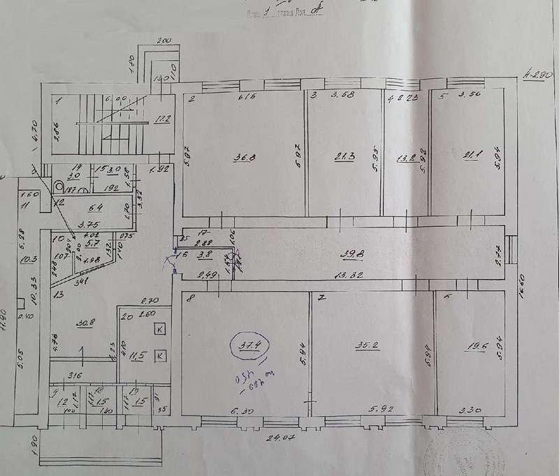 Продажа коммерческой недвижимости, 1596м <sup>2</sup>, Самара, Галактионовская улица,  дом 11