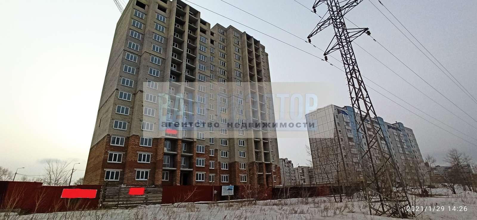 Продажа 1-комнатной новостройки, г. Тольятти, Гидротехническая улица  дом 24В