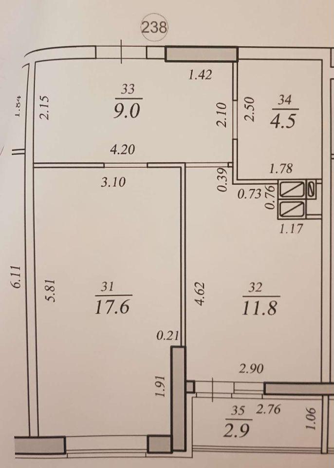 Продажа 1-комнатной квартиры, Самара, Краснодонская улица,  дом 10а